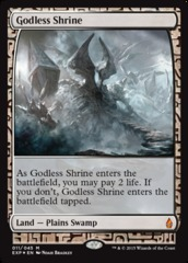 Godless Shrine - Foil (Zendikar Expedition: Battle for Zendikar Lands)