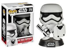 #75 - First Order Stormtrooper with Riot Shield