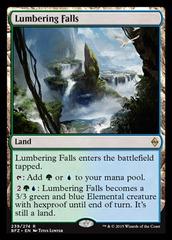 Lumbering Falls - Foil