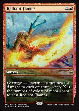 Radiant Flames (Battle for Zendikar Game Day)