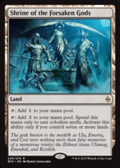 Shrine of the Forsaken Gods - Foil