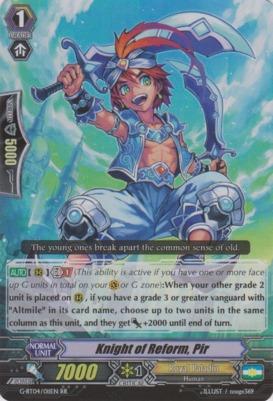 Knight of Reform, Pir - G-BT04/011EN - RR