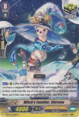 Witch's Familiar, Shiroma - G-BT04/081EN - C on Channel Fireball