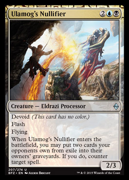 Ulamogs Nullifier
