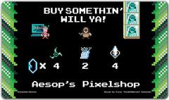 Inked Aesop's Pixelshop Playmat