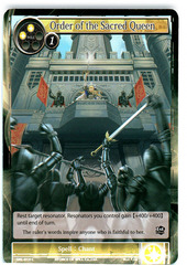 Order of the Sacred Queen - SKL-014 - C - 1st Edition