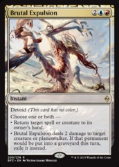 Brutal Expulsion - Foil on Channel Fireball