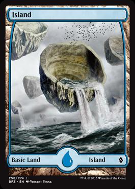 Island (258) (Full Art)