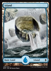 Island (Full Art) - Battle for Zendikar - 258