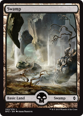 Swamp (262) (Full Art)