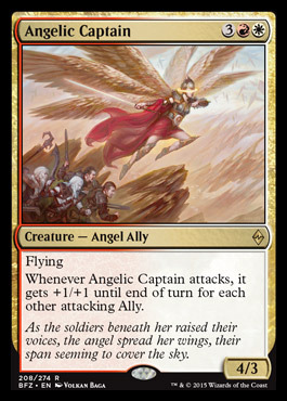 Angelic Captain - Foil