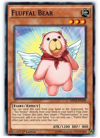 Fluffal Bear - MP15-EN139 - Common - 1st Edition