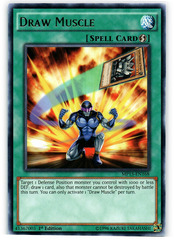 Draw Muscle - MP15-EN168 - Rare - 1st Edition