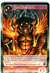 Flame King's Shout - SKL-025 - C - 1st Edition (Foil)