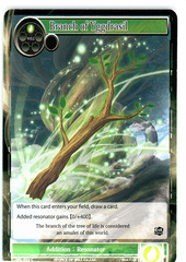 Branch of Yggdrasil - SKL-054 - C - 1st Edition (Foil) on Channel Fireball