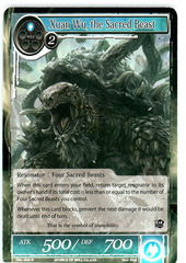 Xuan Wu, the Sacred Beast - SKL-049 - R - 1st Edition (Foil)