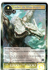 Gwiber, the White Dragon - SKL-009 - U - 1st Edition (Foil)