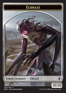 Eldrazi Unc 4 x BREAKER OF ARMIES NM mtg Battle for Zendikar Grey