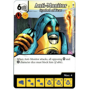 Anti-Monitor - Symbol of Fear (Die & Card Combo)