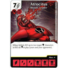 Atrocitus - Bloody Leader (Die & Card Combo)