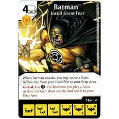 Batman - Instill Great Fear (Die & Card Combo)