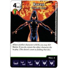 Raven - Trigon's Heir (Die & Card Combo)