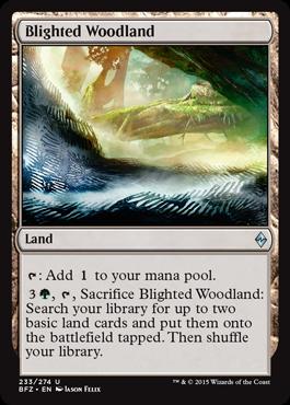 Blighted Woodland - Foil