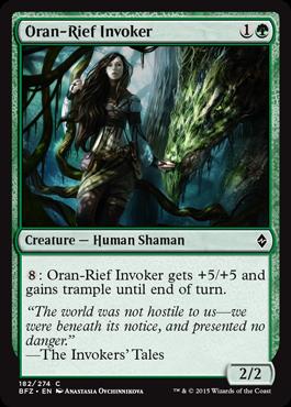 Oran-Rief Invoker - Foil