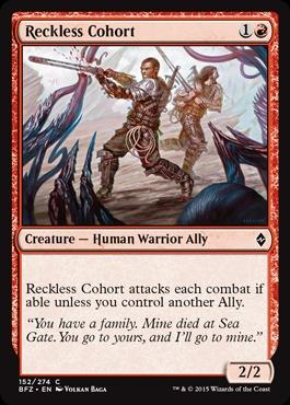 Reckless Cohort - Foil