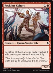 Reckless Cohort - Foil