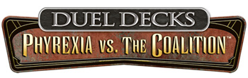 MTG Duel Decks: Phyrexia vs The Coalition (Japanese)