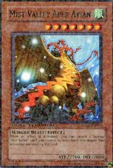 Mist Valley Apex Avian - DT02-EN079 - Duel Terminal Rare Parallel Rare - 1st Edition on Channel Fireball