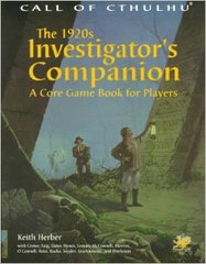Call of Cthulhu: The 1920s Investigator's Companion: A Core Game Book for Players