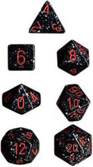 Space Speckled Polyhedral 7-Dice Set - CHX25308