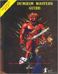 Advanced Dungeons & Dragons: Dungeon Masters Guide