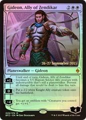 Gideon, Ally of Zendikar - BFZ Prerelease
