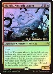 Munda, Ambush Leader - Foil - Prerelease Promo