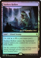 Sunken Hollow (Battle for Zendikar Prerelease Foil)