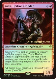 Zada, Hedron Grinder (Battle for Zendikar Prerelease Foil)