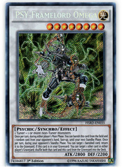 PSY-Framelord Omega - HSRD-EN035 - Secret Rare - 1st Edition on Channel Fireball