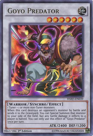 Goyo Predator - HSRD-EN039 - Ultra Rare - 1st Edition