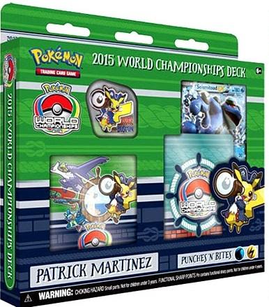 2015 World Championships Deck - Patrick Martinez Punches N Bites