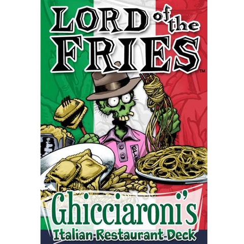 Lord Of The Fries Ghicciaroni/'s Italian Expansion Card Game CAG 225 Cheapass
