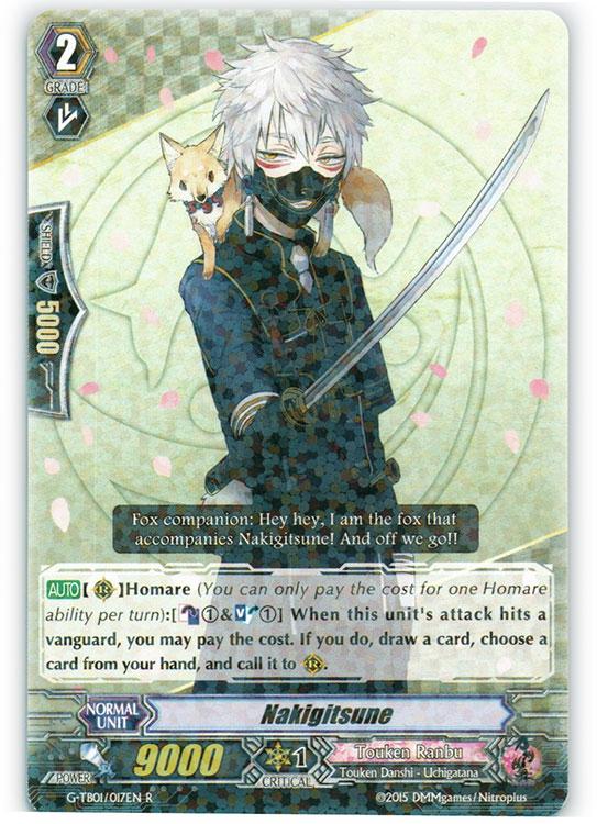 Nakigitsune - G-TB01/017EN - R