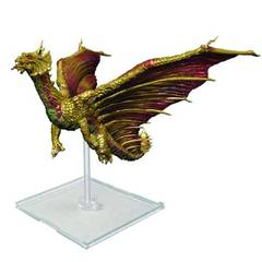 Attack Wing: Dungeons and Dragons - Premium Brass Dragon Figure