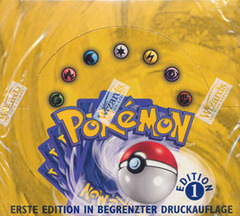 Base Set 1st Edition Booster Box (German)