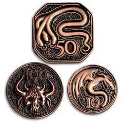 GameMastery Campaign Coins: Copper (10, 50, 100)