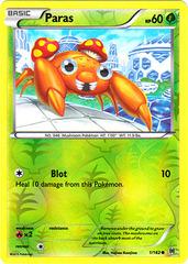 Paras - 1/162 - Common - Reverse Holo