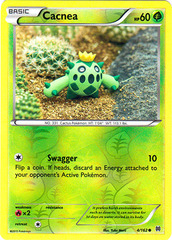 Cacnea - 4/162 - Common - Reverse Holo