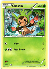 Chespin - 8/162 - Common
